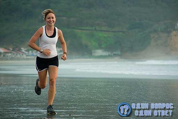 Утренняя спортивная пробежка
