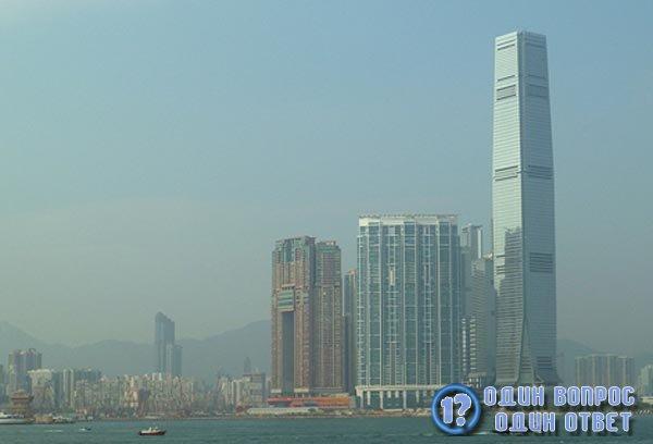 Коммерческий центр в Гонконге