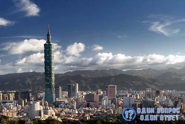 Небоскреб Тайбэй в Тайвани