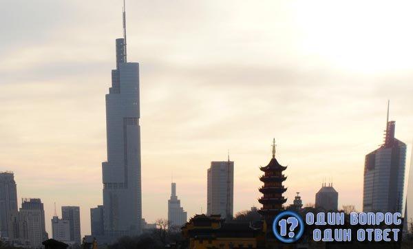 Финансовый центр Наньцзин Гринлэнд в Китае