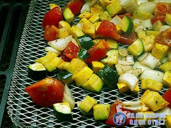 Печеные овощи - легкая пища
