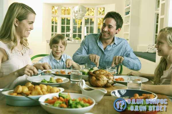 Вкусный ужин для всей семьи