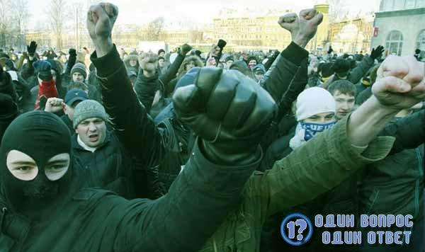 Митинг националистов