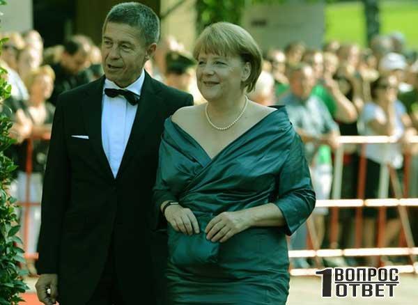Жизнь и семья А. Меркель