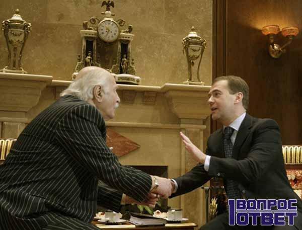 Владимир с Медведевым спорят о жизни
