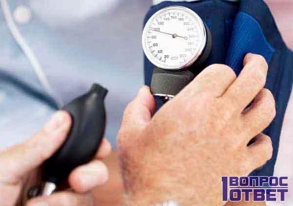 От чего может понижаться артериальное давление у людей?