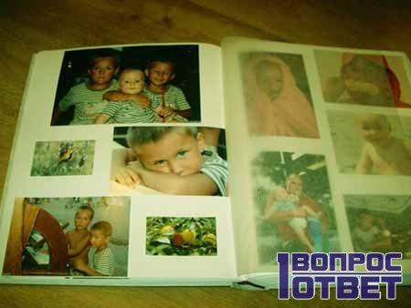 тематический фотоальбом семьи