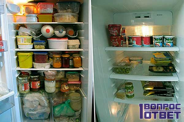 Плохо пахнущий холодильник