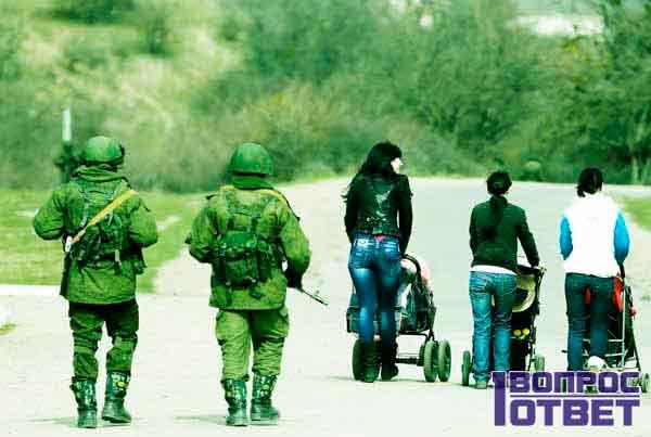 В Крыму на охране порядка