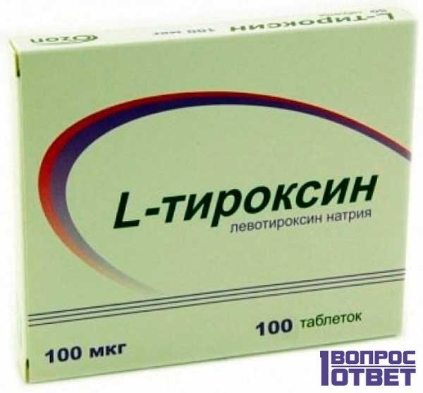 Лекарство от щетовидки