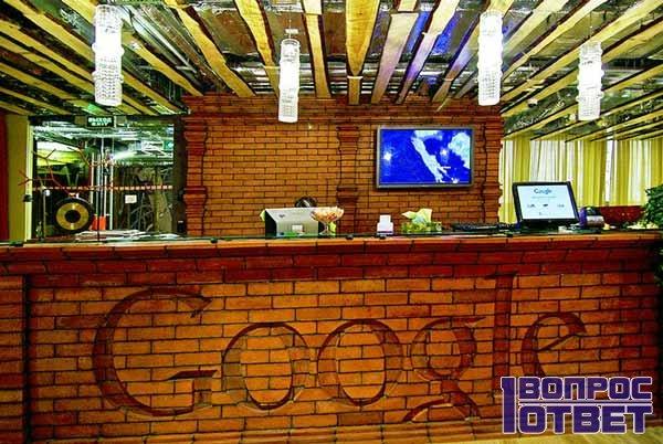 Офис Google внутри