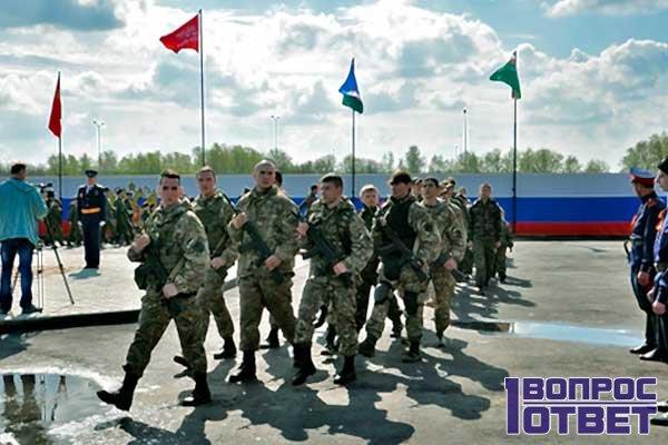 Перспективы Комендантской роты в армии