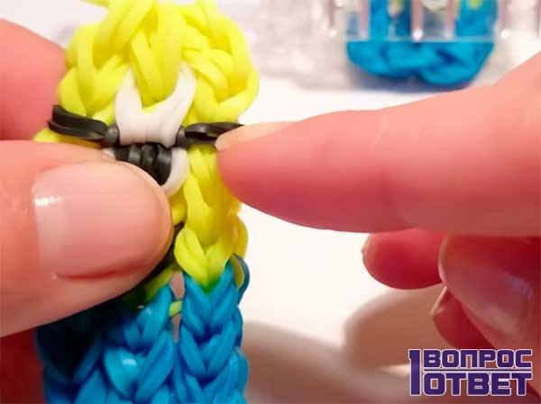 Миньон - плетение на станке - 8