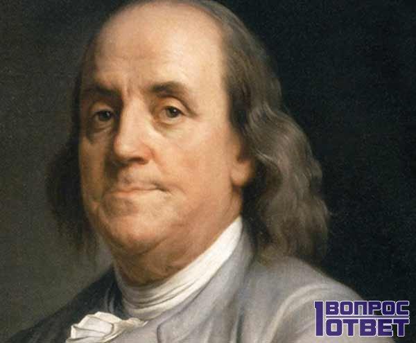 Бенджамин Франклин на изображении валюты