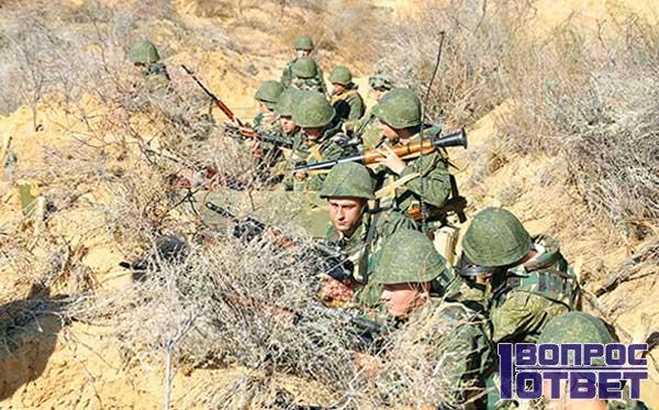 Пехота России