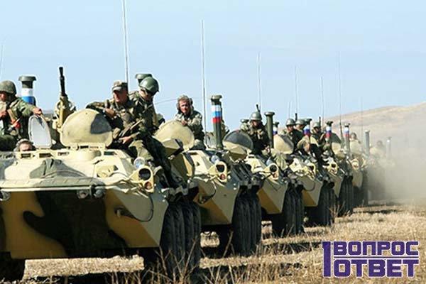 Какие войска есть в армии России?