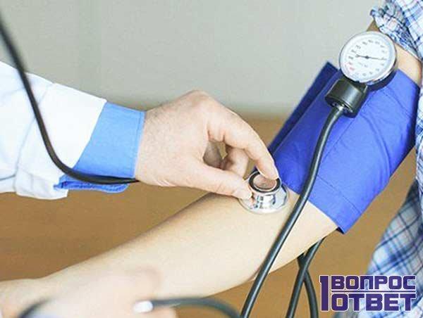 При нормальном давлении пульс повышен