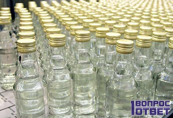 Метил и этил в бутылках