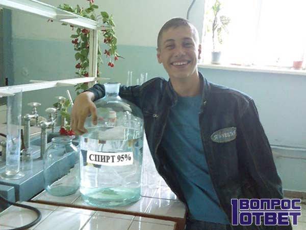 Опасность в метиловом спирте