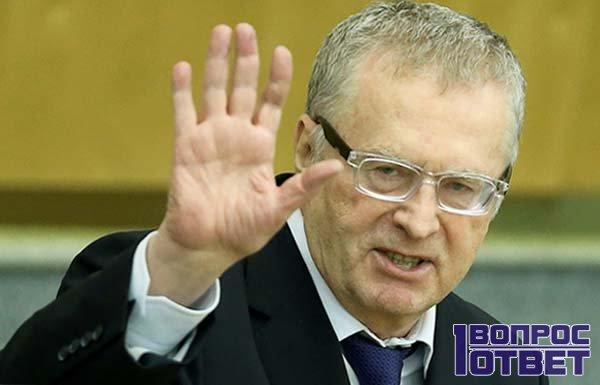 Жириновский как кандидат в президенты