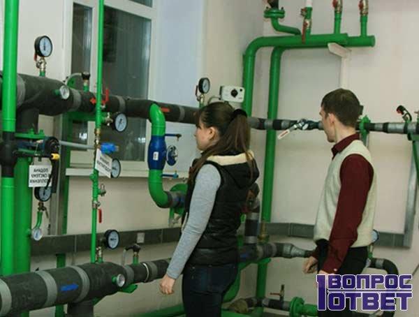 Научные сотрудники теплотехники