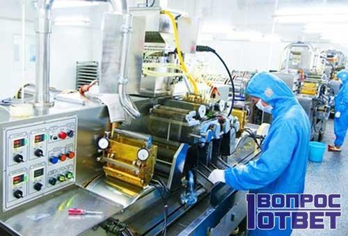 технологические процессы на рабочем месте