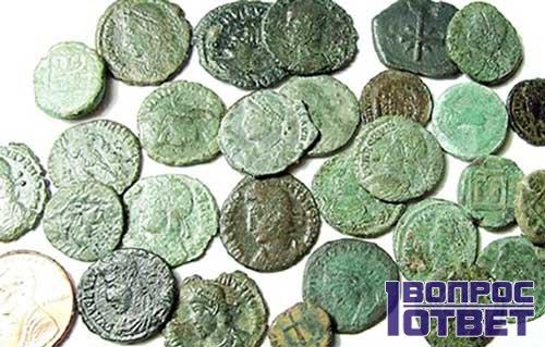 Европейские монеты разного номинала
