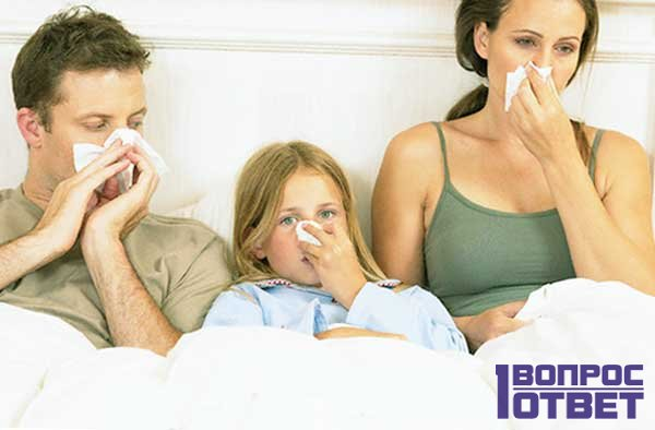 Жар и температура как причина заболевания