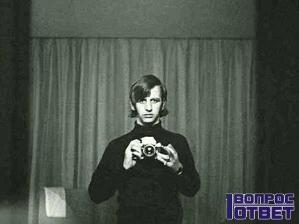 Альфред Хичкок и его фотопортрет