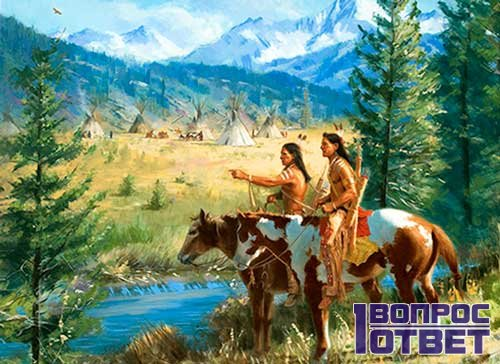Индейцы и трапперы