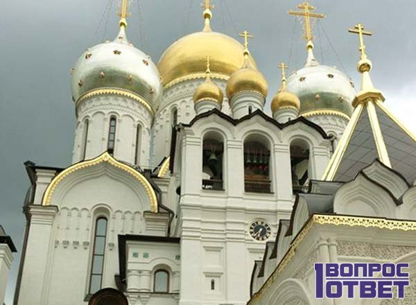 Зачатьевский храм днем