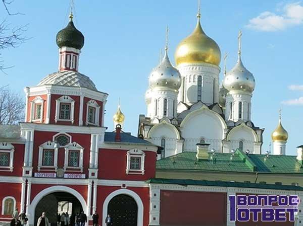 Красивый Храм в Москве