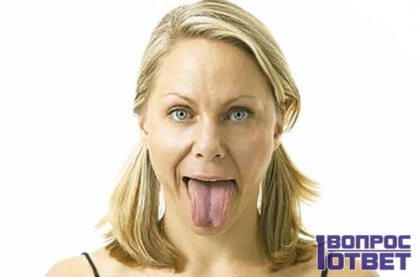 У девушки прямой язык: инсульта нет