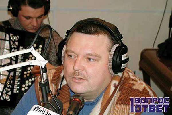 Михаил круг дает интервью на радио