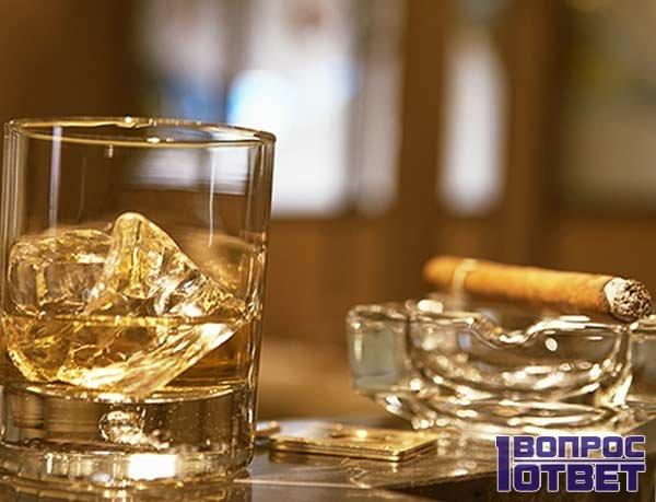 Правильное употребление алкогольного напитка