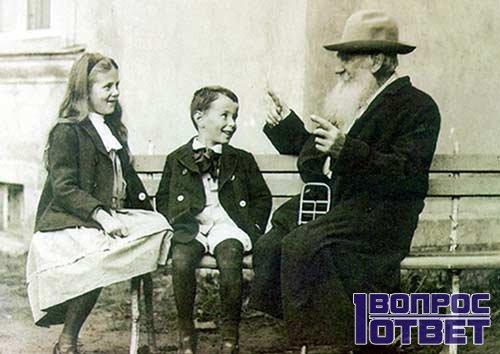 Толстой рассказывает зачин детям