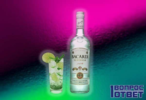 Известный ромовый коктейль с лаймом