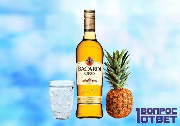 Ром Бакарди с ананасом - лучшее сочетание