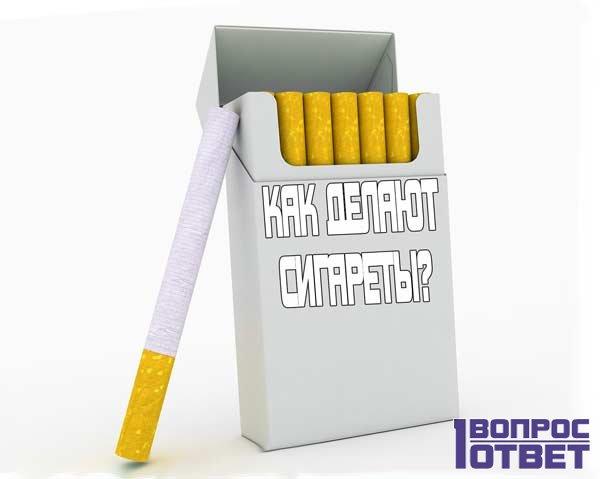 Как изготавливают сигареты?
