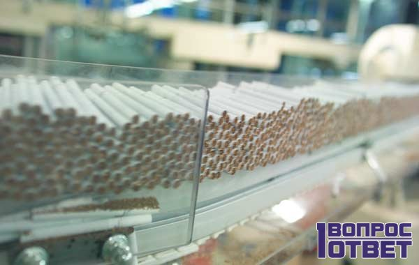 Различные виды табака