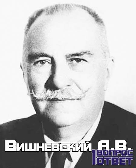 Врач Вишневский А.В.