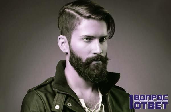бородатый мужчина в самом расцвете сил