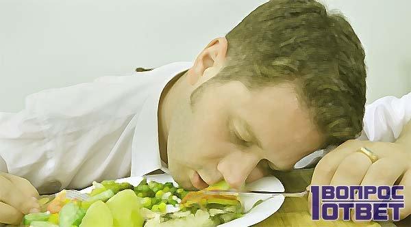 типичное пищевое отравление