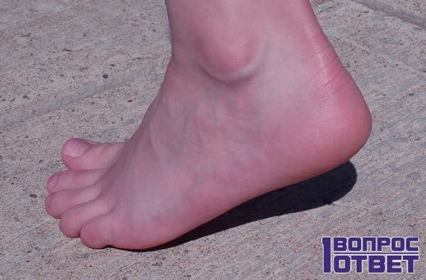 Здоровые ноги, ничего не болит