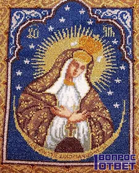 Сама святая икона