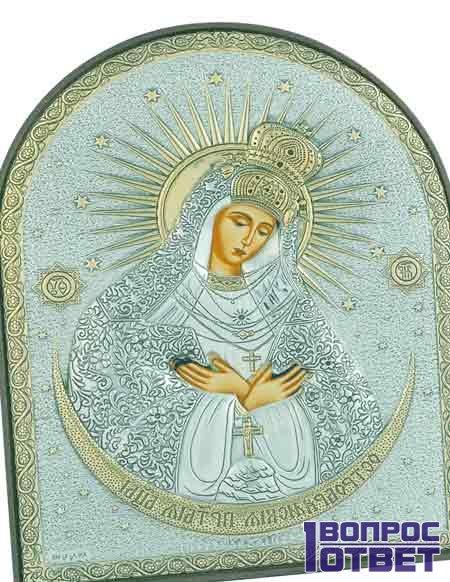 Остробрамская икона Божьей Матери - оригинал фото