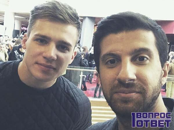 Олег Майами и Амиран Сардаров на проекте