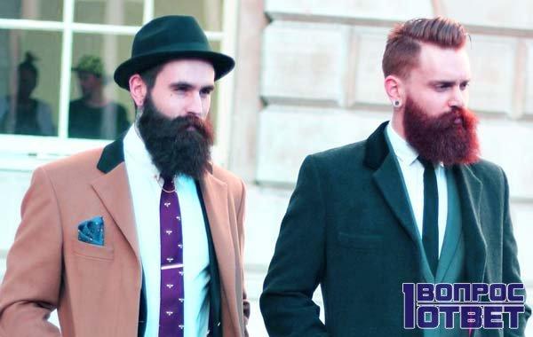 Два парня с бородой