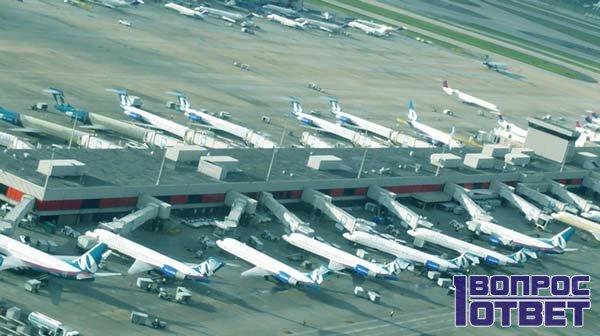 Регулярные рейсы в аэропорту