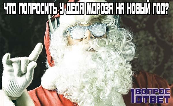 Что попросить у Деда Мороза на Новый Год?